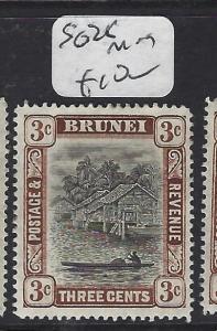 BRUNEI   (P2407B)   3C  SG  25   MOG