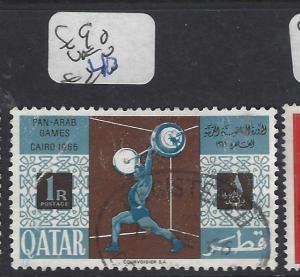 QATAR (P1501B)  SPORTS SG 90   VFU