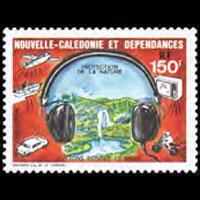 NEW CALEDONIA 1987 - Scott# C212 Noise Set of 1 NH