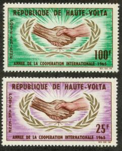 Upper Volta (Burkina Faso) C23-C24 Mint VF NH
