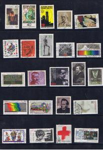 GERMANY SELECTION OF USED STAMPS