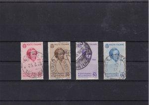 italy 1935   used stamps  bellini cat £31 Ref 8167