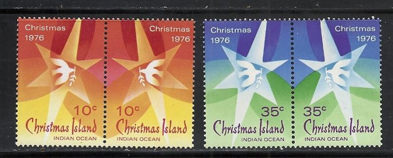Christmas Island #66a-68a comp mnh Scott cv $2.00 Christmas