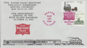 1988 ROMPEX Rock Island Railroad Denver CO