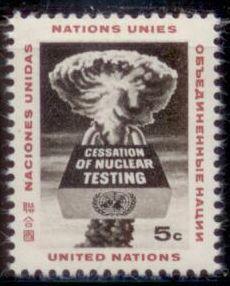 United Nations New York 1964 SC# 133 MHN-OG TS1