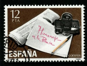 SPAIN SG2637 1981 THE PRESS FINE USED
