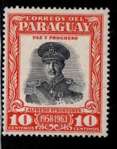 Paraguay Scott 537 MNH** 1958 stamp