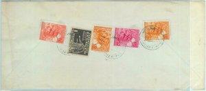 84280 - ECUADOR - POSTAL HISTORY -  COVER freom Jipijapa-Manabi to USA 1955