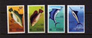 Kenya 1977  Fish Marine Life MNH