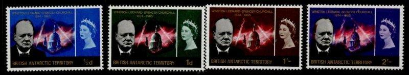 British Antarctic Territory 16-9 MNH Winston Churchill, St Paul's Cathedral