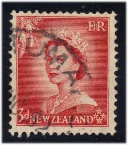 New Zealand #292 Queen Elizabeth II, used (0.25)