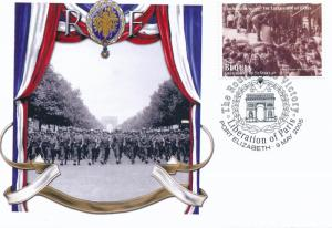 [96862] Bequia 2005 WWII Liberation Paris Special Cachet Cover