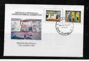 DOMINICAN REPUBLIC STAMPS, COVER   #MAYOP1