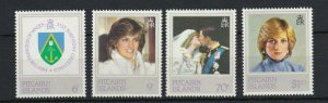 PN113) Pitcairn Islands 1982 Princess Diana's 21st Birthday MUH