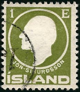 Used Iceland 1911 #86 F-VF SCV$2.50...High Qualityl!!