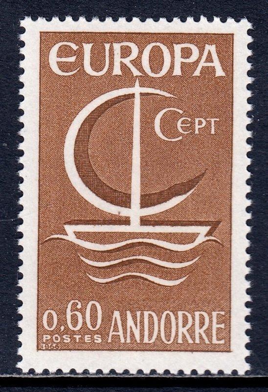 Andorra (French) - Scott #172 - MNH - SCV $3.00