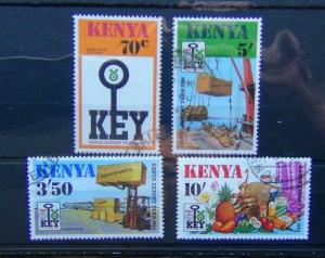 Kenya 1984  Kenya Export Year set Fine Used