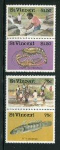 St Vincent #984-5 MNH