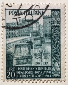 AlexStamps ITALY #528 VF Used