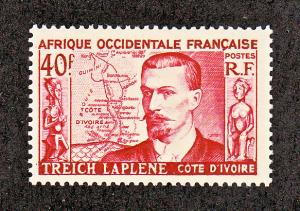 French West Africa Scott #58 MH