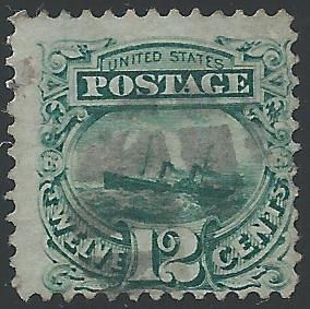 Scott 117, Used, 1869 Issue
