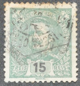 DYNAMITE Stamps: Portugal Scott #114 - USED