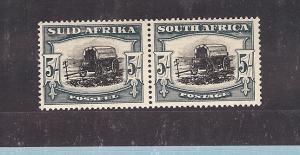 South Africa, 64, Ox Wagon Pair, **MNH**