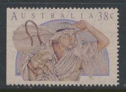 Australia SG 1309  Used  from booklet left margin imperf - Christmas