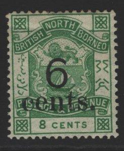 North Borneo Sc#52 MH