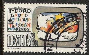 MEXICO C525, Latin American Forum on Childrens TV. Used. F-VF.  (837)