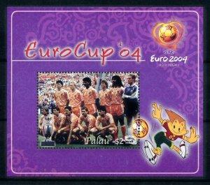[101282] Palau 2004 European cup football Netherlands Souvenir Sheet MNH
