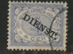 Netherlands Indies Scott o7 used 1911 official stamp