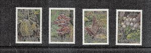 China Wild Mushrooms   4 var   mnh