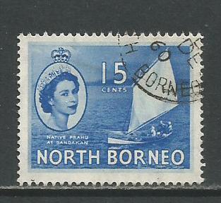 North Borneo    #268  Used  (1955)