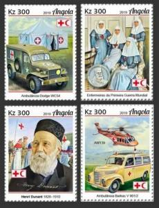 Z08 IMPERF ANG190108a ANGOLA 2019 Henry Dunant MNH ** Postfrisch