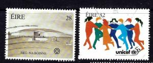Ireland 1006-07 Used 1996 Unicef set