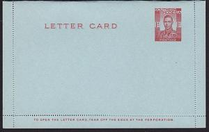 SOUTHERN RHODESIA GVI 1½d lettercard fine unused...........................8051