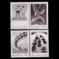AUSTRALIA 1991 - Scott# 1215-7 Photography Set of 4 NH