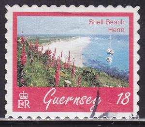Guernsey 593 Hinged 1997 Shell Beach, Herm