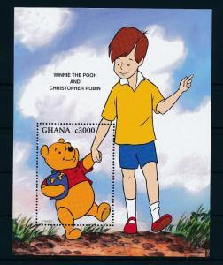 [22421] Ghana 1996 Disney Character Winnie the Pooh Bear Honey MNH
