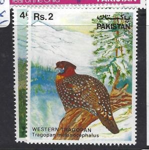 PAKISTAN (P2612B)  BIRDS  SC 559-60   MNH