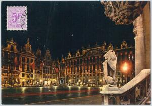 63469 -  BELGIUM - POSTAL HISTORY: MAXIMUM CARD 1975 -  ARCHITECTURE