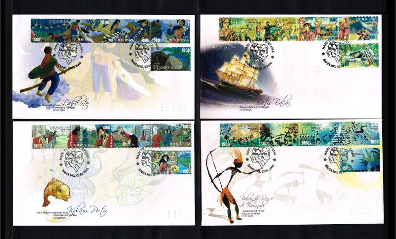 2005 - Indonesia FDC 01/05 - Cultures - Indonesian Folkstales [PB8_173]