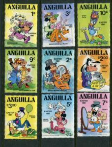 Anguilla #434-42 Mint