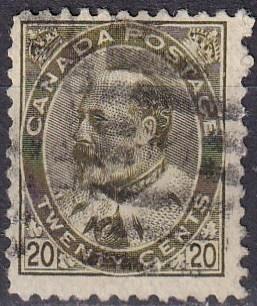 Canada #94  F-VF Used CV $50.00 (A18716)