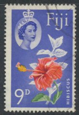 Fiji  SG 315  SC# 180 Used  Hibiscus  Flower   see scan