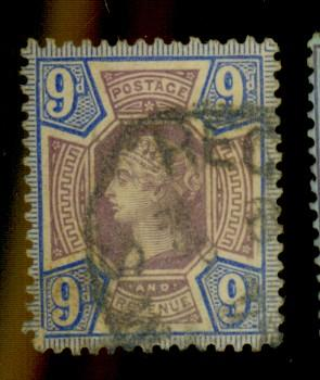 Great Brtiain a#120 Used F-VF Cat$42.50
