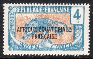 Middle Congo 25 -  FVF MNH