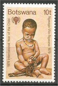 BOTSWANA, 1979, MNH 10t, Year of the Child. Scott 238