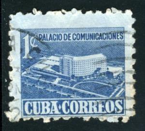 CUBA #RA16, USED - 1952 - CUBA006